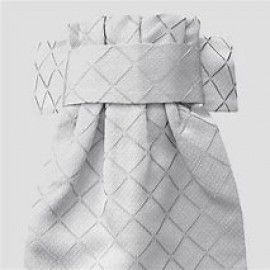 EQUETECH DELUXE READY TIED STOCK - DIAMOND JACQUARD